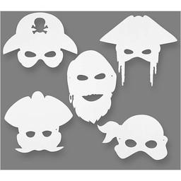 Creativ Company Piratenmaskers (16 Stuks)