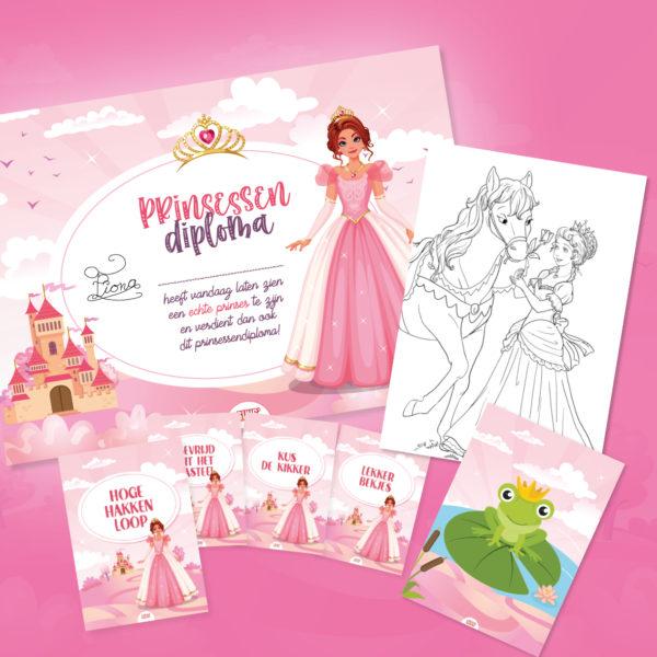 prinsessenspeurtocht-kinderfeestje