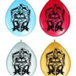 8 Ballonnen met Ridder opdruk