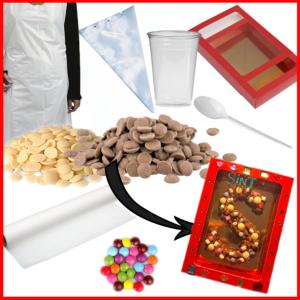 knutselpakket-chocoladeletter-versieren