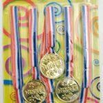 Medailles, 6 stuks