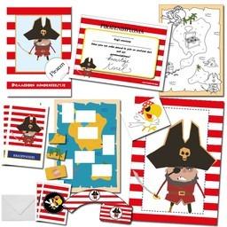 Piraten Speurtocht - 10 Kinderen