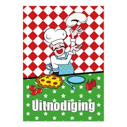 uitnodigingen pizza kinderfeestje