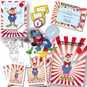 Circus speurtocht - 10 Kinderen