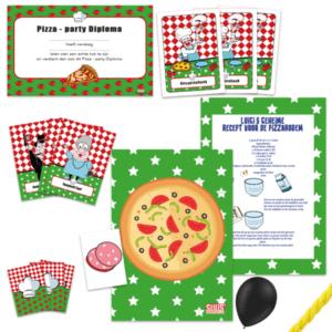 Pizzaspeurtocht - 10 Kinderen