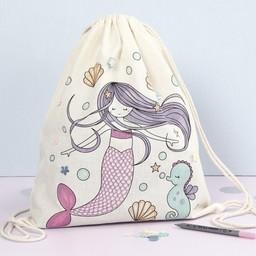 knutselpakket zeemeermin tas