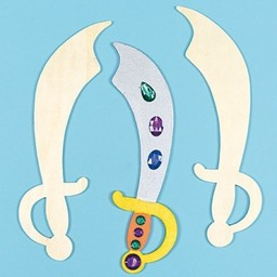 Knutselpakket zwaard