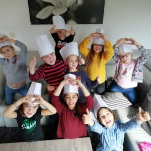 Koksspeurtocht - 10 kinderen