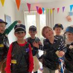 kinderfeestje speurtocht politie en boeven