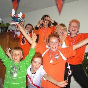 voetbal-kinderfeestje