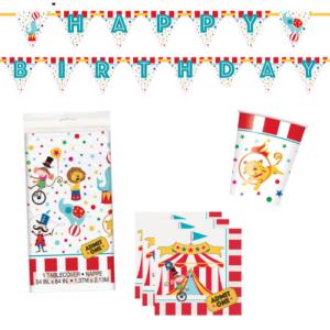 decoratie pakket circus feestje