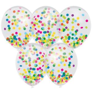 Ballonnen confetti kinderfeestje