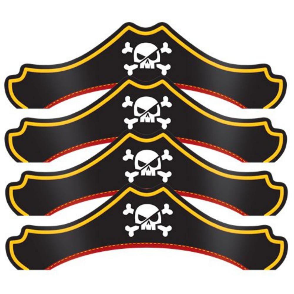 piratenhoed-van-karton-8-stuks