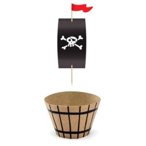 piraten cupcake-bakje