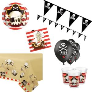Piraten decoratie pakket