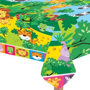 jungle dieren tafelkleed