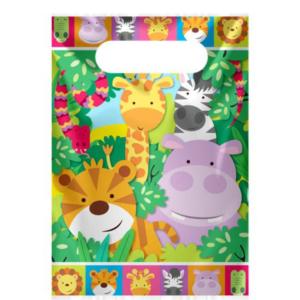 jungle dieren feestzakjes