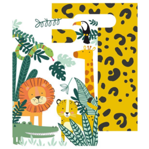 wild jungle traktatiezakjes