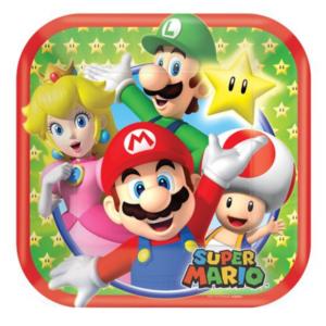 Mario borden diameter 17 cm.