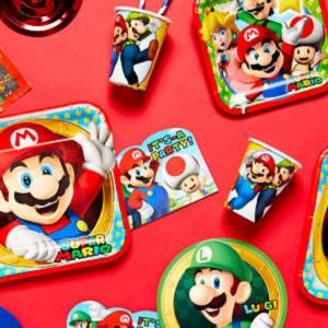 Super Mario kinderfeestje
