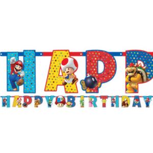 Super Mario vlaggenlijn