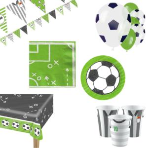 voetbal kinderfeestje decoratiepakket