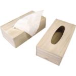 houten tissuedoos